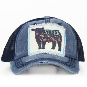 Steer Me To The Show Patch Hat